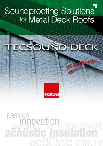 Soundproofing Solutions for Metal Deck Roofs